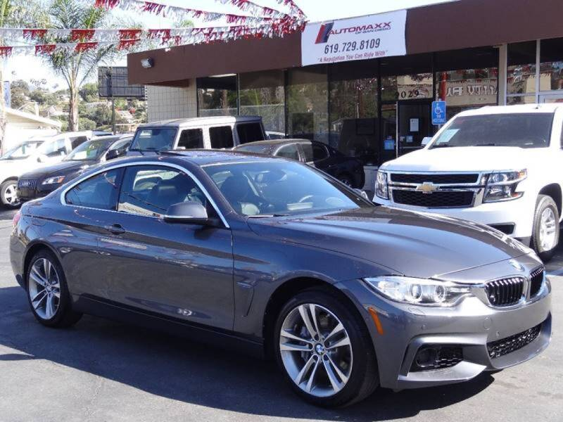 2016 BMW 4 Series for sale at Automaxx Of San Diego in Spring Valley CA