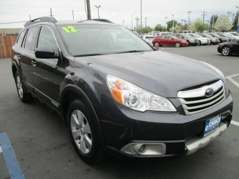 2012 Subaru Outback for sale at Choice Auto & Truck in Sacramento CA