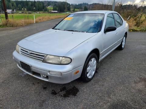 1997 Nissan Altima for sale at State Street Auto Sales in Centralia WA