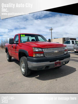2006 GMC Sierra 2500HD for sale at Quality Auto City Inc. in Laramie WY