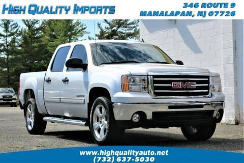 2013 GMC Sierra 1500 for sale at High Quality Imports in Manalapan NJ