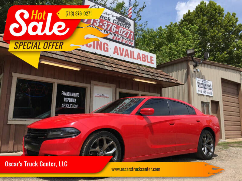 2017 Dodge Charger for sale at Oscar's Truck Center, LLC in Houston TX