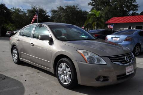 2011 Nissan Altima for sale at STEPANEK'S AUTO SALES & SERVICE INC. in Vero Beach FL