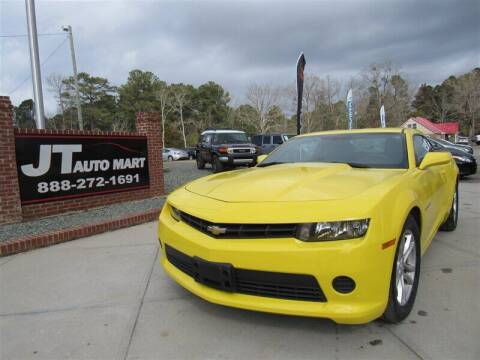 2015 Chevrolet Camaro for sale at J T Auto Group in Sanford NC
