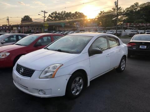 2007 Nissan Sentra for sale at BIG C MOTORS in Linden NJ