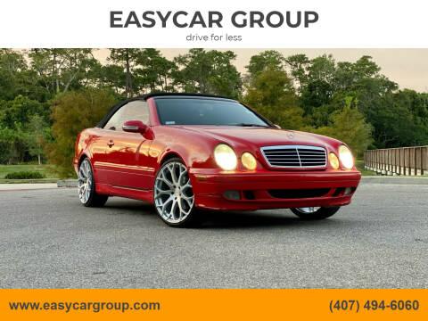 2000 Mercedes-Benz CLK for sale at EASYCAR GROUP in Orlando FL
