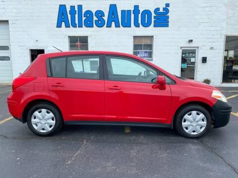 2011 Nissan Versa for sale at Atlas Auto in Rochelle IL