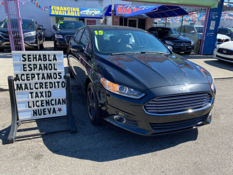 2015 Ford Fusion for sale at 4530 Tip Top Car Dealer Inc in Bronx NY