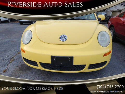 2007 Volkswagen New Beetle for sale at Riverside Auto Sales in Saint Albans WV