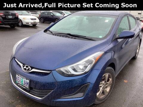 2015 Hyundai Elantra for sale at Royal Moore Custom Finance in Hillsboro OR
