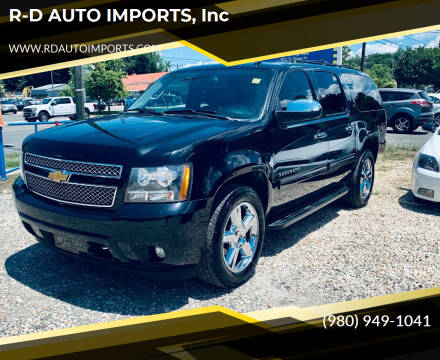 2012 Chevrolet Suburban for sale at R-D AUTO IMPORTS, Inc in Charlotte NC