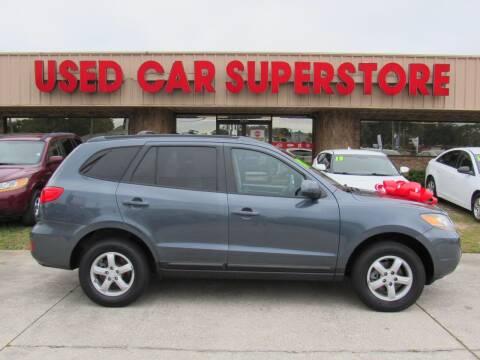 2007 Hyundai Santa Fe for sale at Checkered Flag Auto Sales NORTH in Lakeland FL