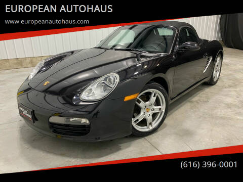 2005 Porsche Boxster for sale at EUROPEAN AUTOHAUS in Holland MI