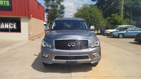 2017 Infiniti QX80 for sale at Southwest Sports & Imports in Oklahoma City OK