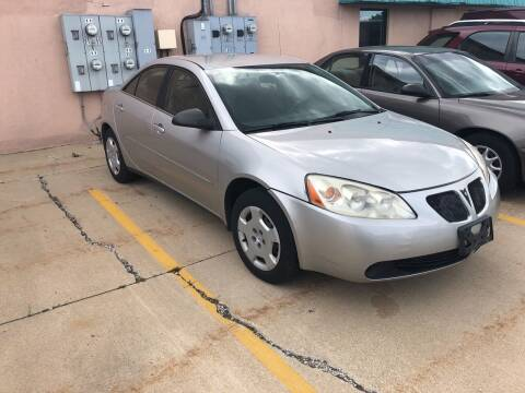 2006 Pontiac G6 for sale at Cargo Vans of Chicago LLC in Mokena IL