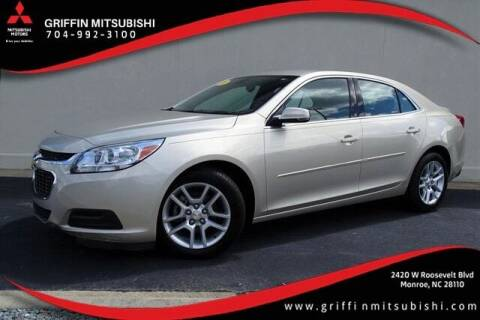2016 Chevrolet Malibu Limited for sale at Griffin Mitsubishi in Monroe NC