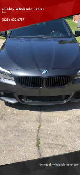 2013 BMW 5 Series for sale at Quality Wholesale Center Inc in Baton Rouge LA