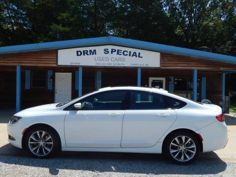 2015 Chrysler 200 for sale at DRM Special Used Cars in Starkville MS