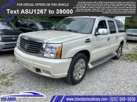 2005 Cadillac Escalade ESV for sale at Island Auto Sales in East Patchogue NY