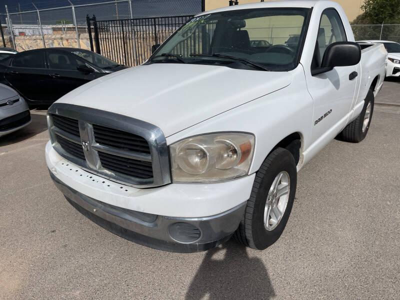2007 Dodge Ram Pickup 1500 for sale at Legend Auto Sales in El Paso TX