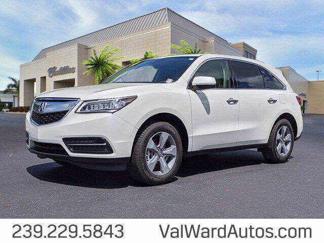 2016 Acura MDX for sale in Fort Myers, FL