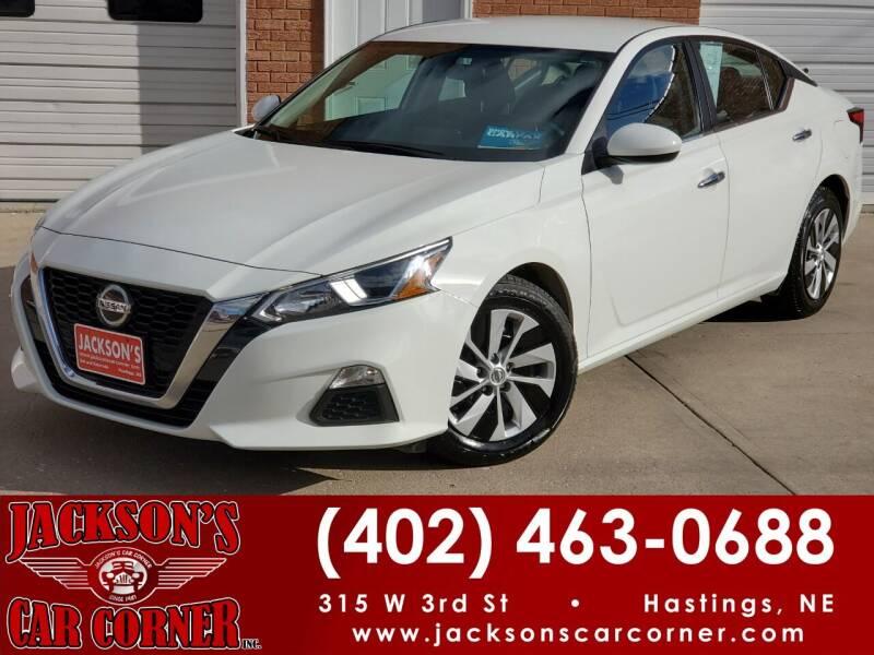 2019 Nissan Altima for sale at Jacksons Car Corner Inc in Hastings NE