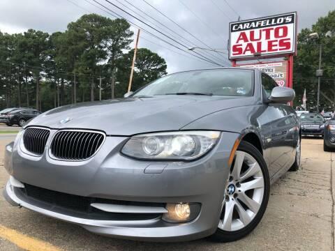 2013 BMW 3 Series for sale at Carafello's Auto Sales in Norfolk VA
