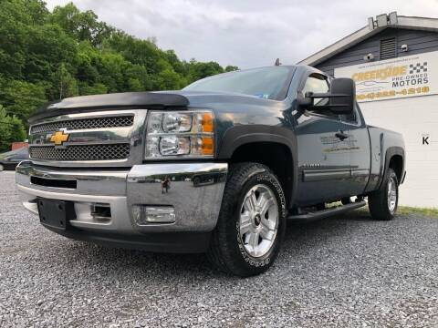 2012 Chevrolet Silverado 1500 for sale at Creekside PreOwned Motors LLC in Morgantown WV