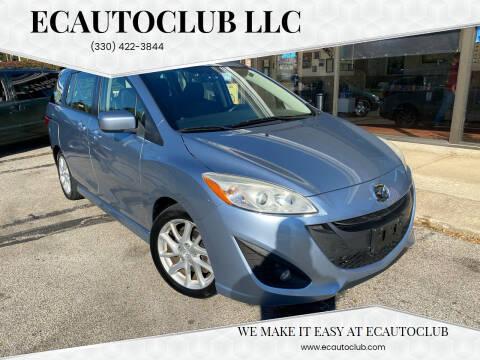 2012 Mazda MAZDA5 for sale at ECAUTOCLUB LLC in Kent OH