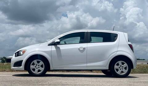 2016 Chevrolet Sonic for sale at Palmer Auto Sales in Rosenberg TX