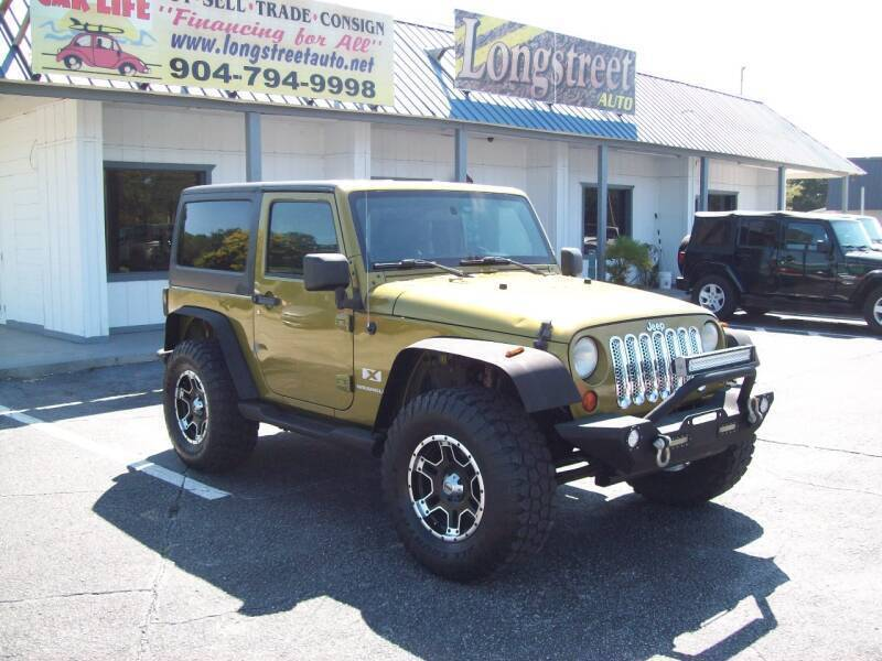 2007 Jeep Wrangler for sale at LONGSTREET AUTO in St Augustine FL