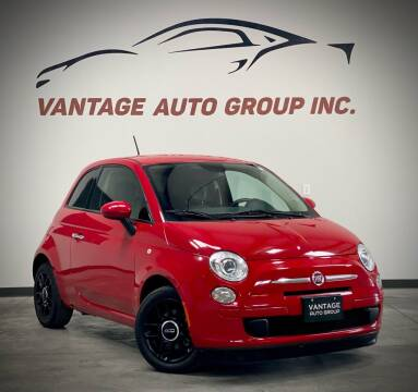 2015 FIAT 500 for sale at Vantage Auto Group Inc in Fresno CA