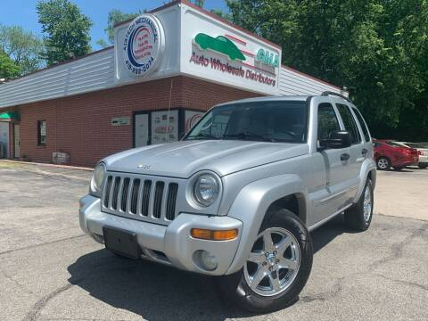 2003 Jeep Liberty for sale at GMA Automotive Wholesale in Toledo OH