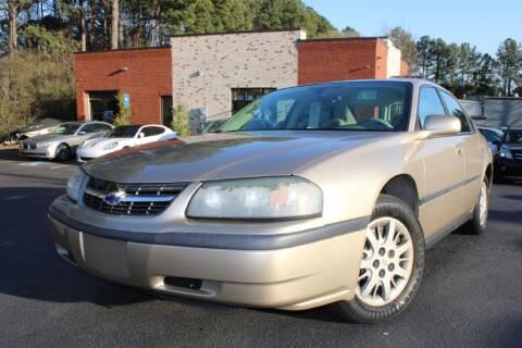 2004 Chevrolet Impala for sale at Atlanta Unique Auto Sales in Norcross GA
