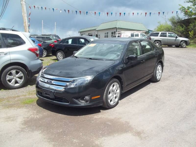 2010 Ford Fusion for sale at Warner's Auto Body of Granville Inc in Granville NY