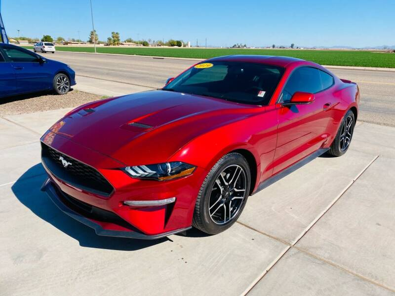 2019 Ford Mustang for sale at A AND A AUTO SALES in Gadsden AZ
