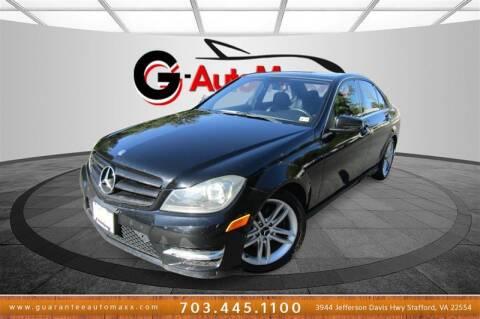 2012 Mercedes-Benz C-Class for sale at Guarantee Automaxx in Stafford VA