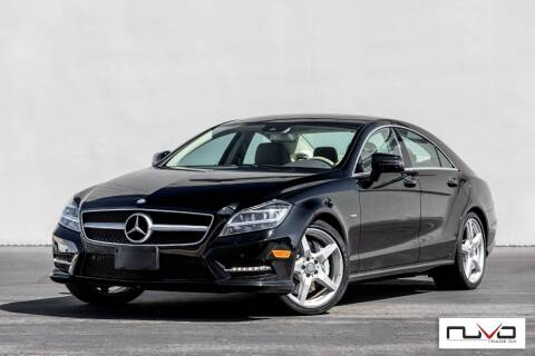 2012 Mercedes-Benz CLS for sale at Nuvo Trade in Newport Beach CA