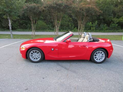 2004 BMW Z4 for sale at Pristine Auto Sales in Monroe NC