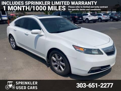 2013 Acura TL for sale at Sprinkler Used Cars in Longmont CO