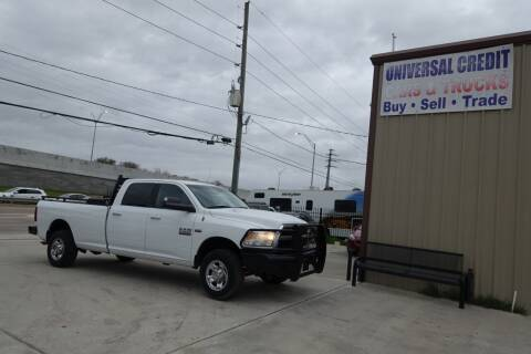2013 RAM Ram Pickup 2500 for sale at Universal Credit in Houston TX