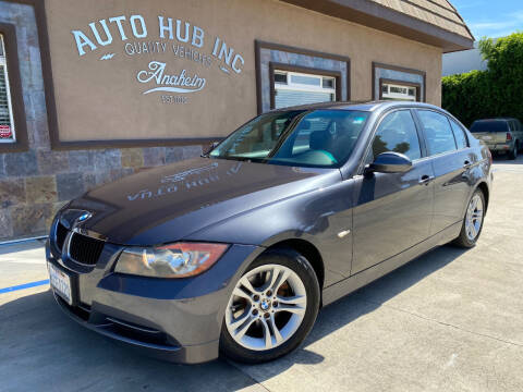 2008 BMW 3 Series for sale at Auto Hub, Inc. in Anaheim CA