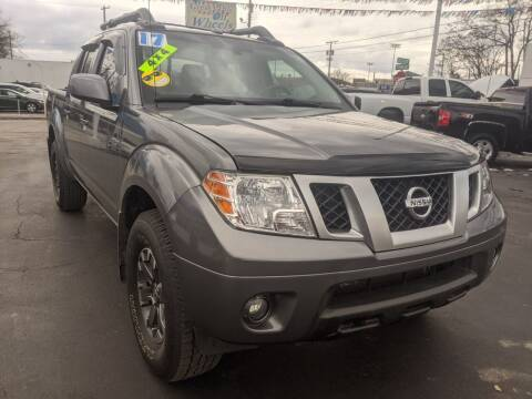 2017 Nissan Frontier for sale at GREAT DEALS ON WHEELS in Michigan City IN
