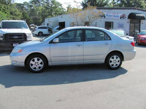 2006 Toyota Corolla for sale at Pure 1 Auto in New Bern NC