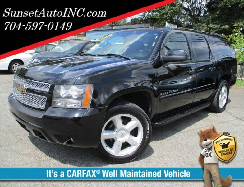 2007 Chevrolet Suburban for sale at Sunset Auto in Charlotte NC