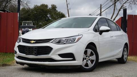 2016 Chevrolet Cruze for sale at Hidalgo Motors Co in Houston TX