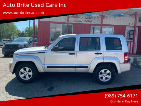 2011 Jeep Liberty for sale at Auto Brite Used Cars Inc in Saginaw MI