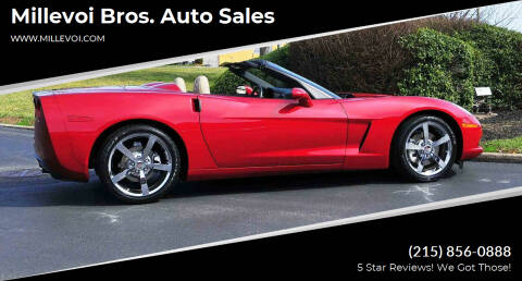 2010 Chevrolet Corvette for sale at Millevoi Bros. Auto Sales in Philadelphia PA