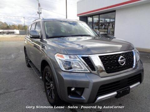 2018 Nissan Armada for sale at Gary Simmons Lease - Sales in Mckenzie TN