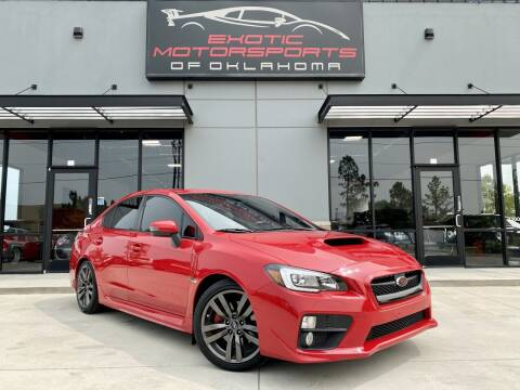 2017 Subaru WRX for sale at Exotic Motorsports of Oklahoma in Edmond OK